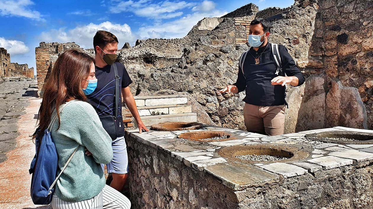 Trip of a Lifetime! A visit to Pompeii and Herculaneum with your very own tour guide and personal driver