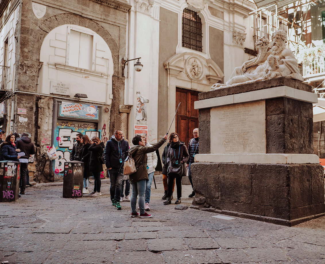 The Heart of Naples: guided tour of San Gregorio Armeno and Spaccanapoli
