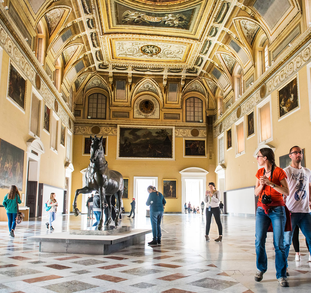 Feel the fabulous antiquities come alive with a private guided tour of the National Archaeological Museum in Naples