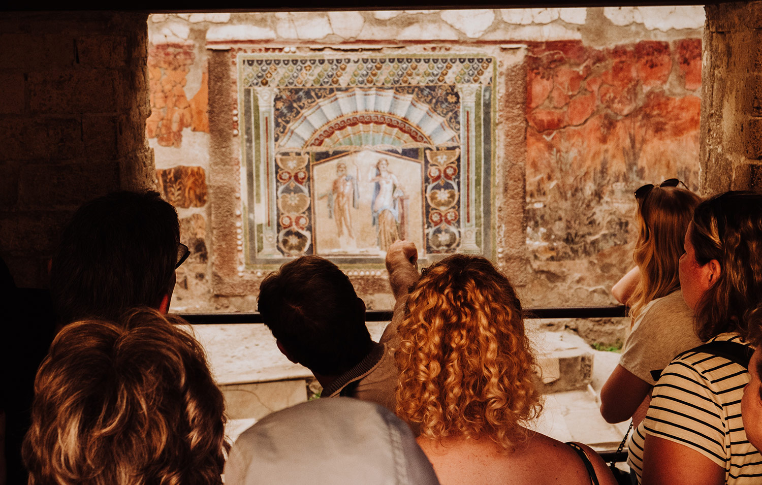 One of the tours of a lifetime: Contemplate life in the ancient world with a private tour to Herculaneum
